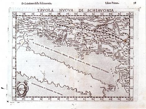 GIROLAMO RUSCELLI – KARTA SLAVONIJE