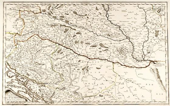 NICOLAS SANSON – HRVATSKA, BOSNA I MAĐARSKA