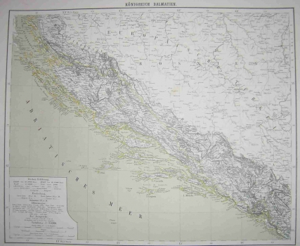 Carl Flemming – Karta Dalmacije