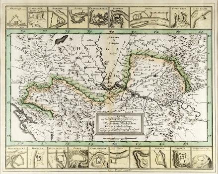 JOHANN CHRISTOPH WEIGEL – KARTA NOVIH GRANICA KARLOVAČKOG MIRA IZ 1699. GODINE